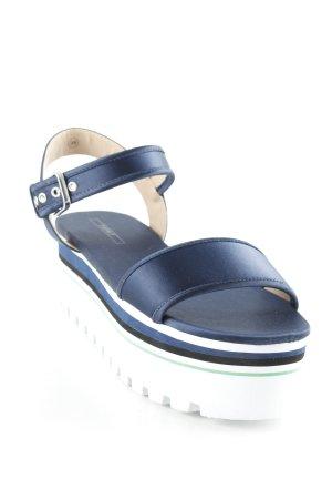 Esprit Plateauzool Sandalen met Hoge Hakken veelkleurig extravagante stijl
