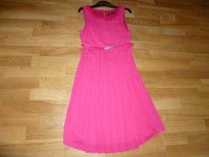 Esprit Plissee-Kleid pink