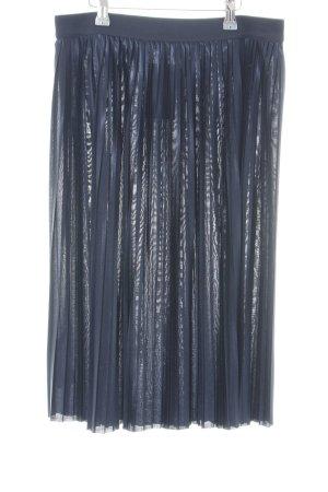 Esprit Jupe plissée bleu style mouillé