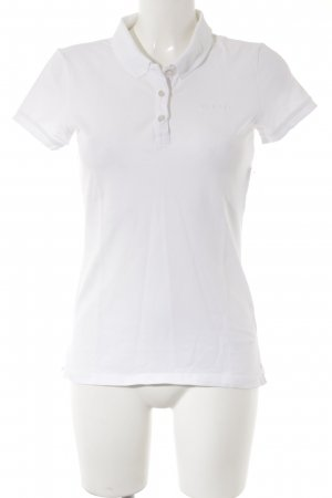 Esprit Polo-Shirt weiß Casual-Look