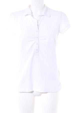 Esprit Polo-Shirt weiß sportlicher Stil