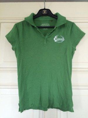 Esprit Poloshirt Oberteil grün Sommer Gr. S super Zustand