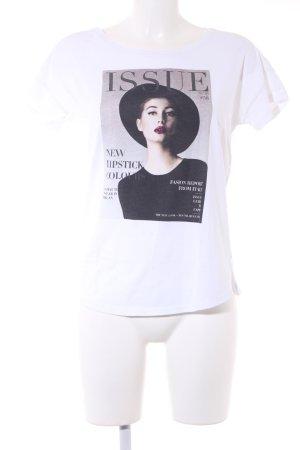 Esprit Print-Shirt weiß Casual-Look