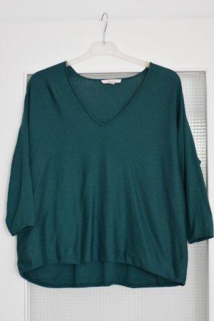 Esprit Jersey holgados petróleo-verde oscuro