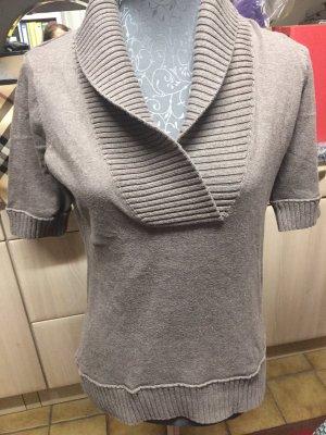 Esprit Sweater met korte mouwen beige-camel