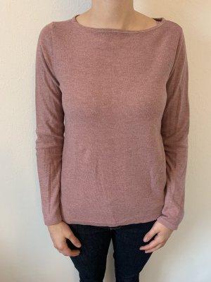 Esprit Kraagloze sweater roze-stoffig roze