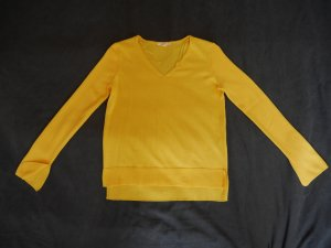 Esprit Oversized Sweater yellow cotton