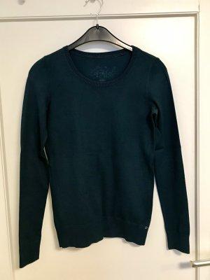 edc by Esprit Maglione lavorato a maglia verde scuro-verde Cotone