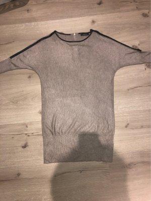 Esprit Short Sleeve Sweater beige-black