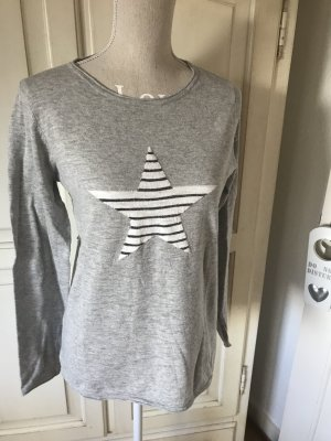 Esprit Jersey de punto gris claro
