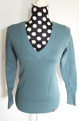 Esprit Sweater petrol-cadet blauw