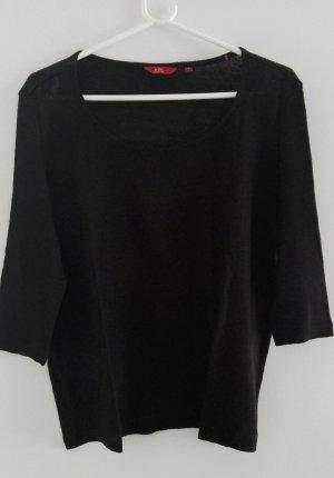 Esprit Pullover schwarz 3/4-ärmelig