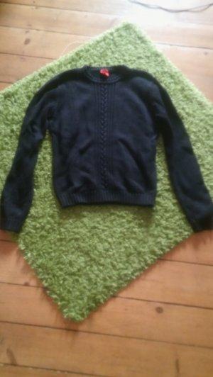 Esprit Pullover schwarz Größe S