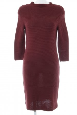 Esprit Sweater Dress bordeaux casual look