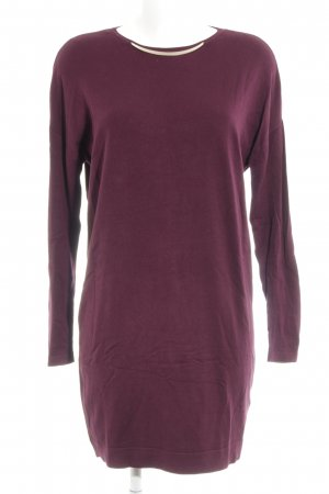 Esprit Sweater Dress bordeaux simple style
