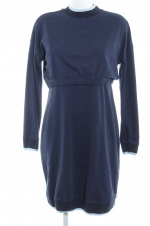 Esprit Sweater Dress dark blue-azure casual look