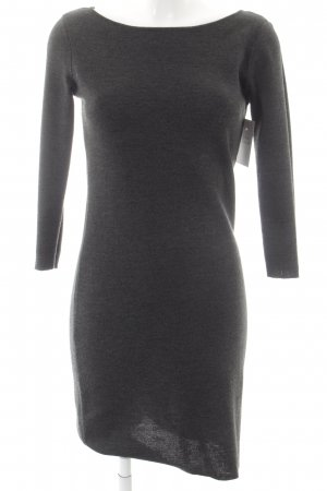 Esprit Sweater Dress dark grey flecked casual look