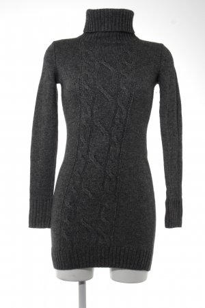 Esprit Sweater Dress dark grey cable stitch casual look