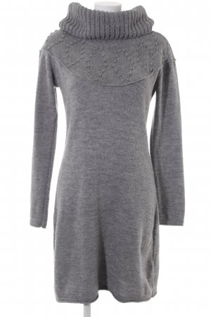 Esprit Sweater Dress grey cable stitch casual look
