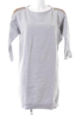 Esprit Robe pull gris clair style décontracté