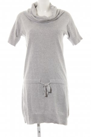 Esprit Sweater Dress light grey flecked casual look