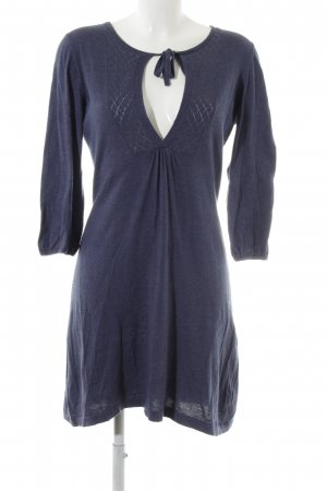 Esprit Sweater Dress steel blue casual look
