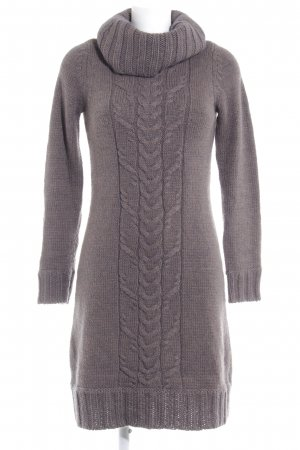 Esprit Sweater Dress taupe cable stitch casual look