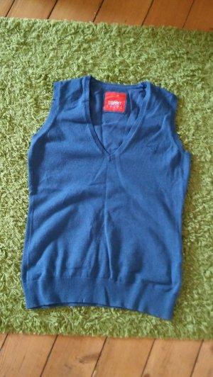 Esprit Pullunder blau Größe S