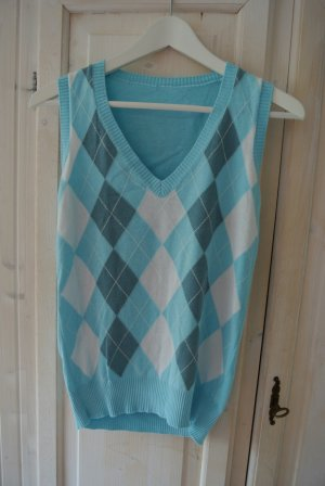 ESPRIT Pullunder Blau/Weiß Gr. 36
