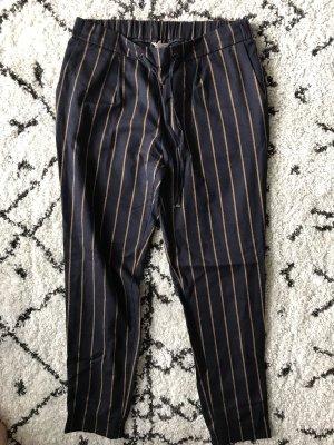 Esprit Pantalone bloomers blu scuro-sabbia