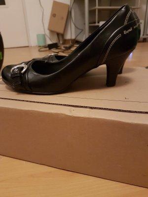 Edc Esprit Zapatos de punta negro
