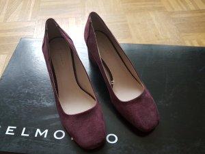 Esprit Pumps blackberry-red-brown violet