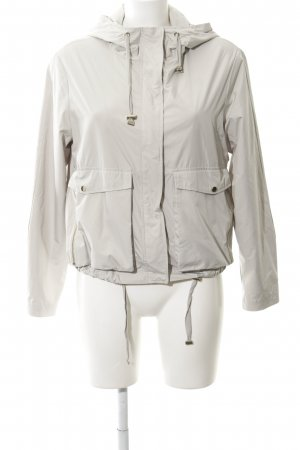 Esprit Rain Poncho light grey retro look