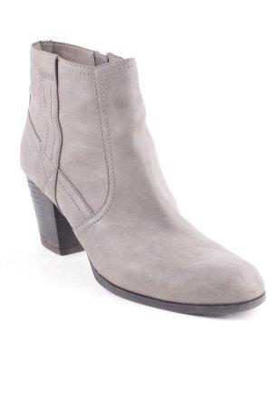 Esprit Reißverschluss-Stiefeletten grau Casual-Look