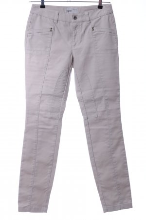 Esprit Riding Trousers light grey casual look