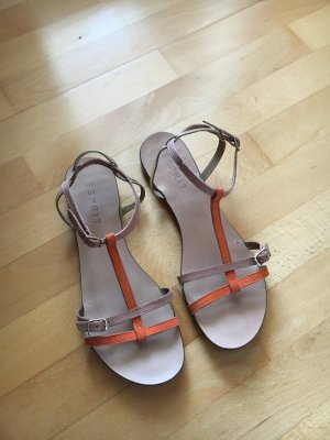 Esprit Strapped Sandals multicolored