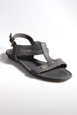 Esprit Riemchen-Sandalen schwarz
