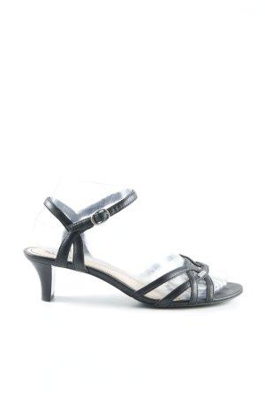 Esprit Sandalias de tiras negro elegante