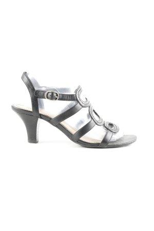 Esprit Riemchen-Sandaletten schwarz Business-Look