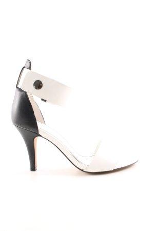 Esprit Riemchen-Sandaletten schwarz-weiß Elegant