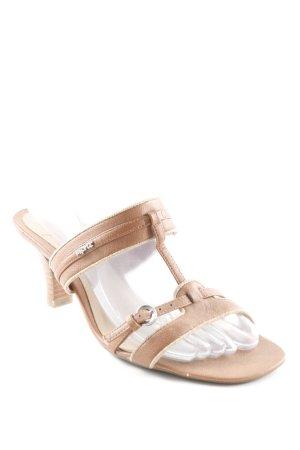 Esprit Riemchen-Sandaletten braun schlichter Stil