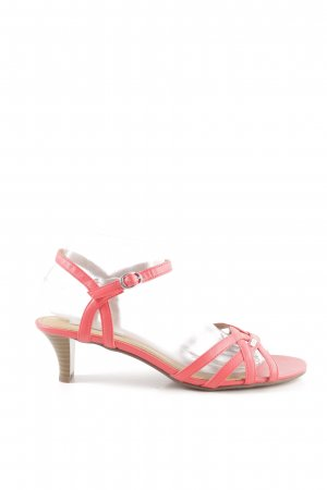 Esprit Riemchen-Sandaletten pink Casual-Look