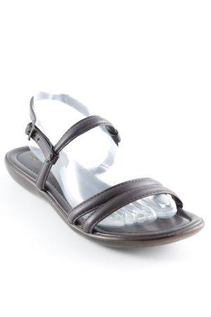 Esprit Riemchen-Sandaletten dunkelbraun Beach-Look