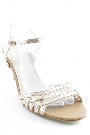 Esprit Strapped High-Heeled Sandals rose-gold-coloured casual look