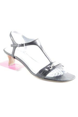 Esprit Riemchen-Sandaletten schwarz Elegant