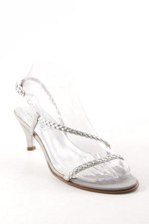 Esprit Riemchen-Sandaletten silberfarben Elegant