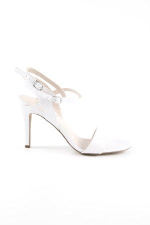 Esprit Riemchen-Sandaletten weiß Elegant