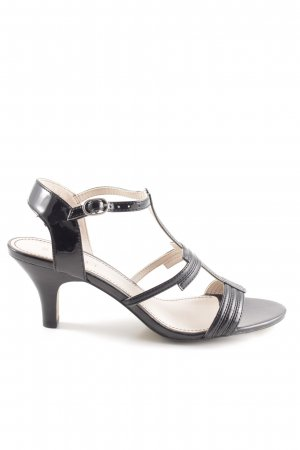 Esprit Riemchenpumps schwarz Business-Look