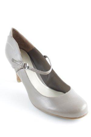 Esprit Tacones de tiras marrón grisáceo-coñac estilo sencillo