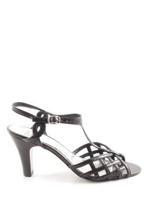 Esprit Riemchenpumps schwarz Elegant